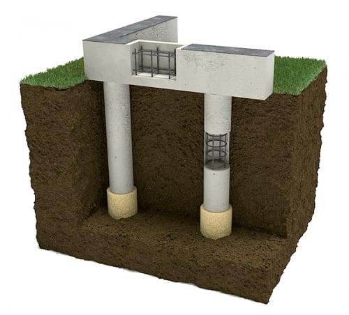 бетон ростверковый